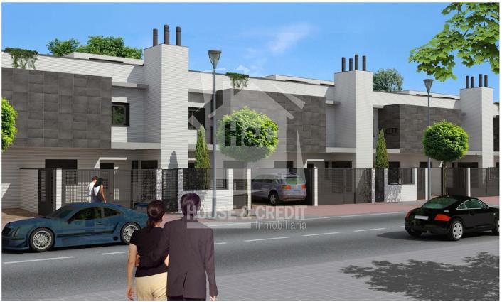 Chalet obra nueva mostoles residencial reino unido with for Idealista pisos mostoles